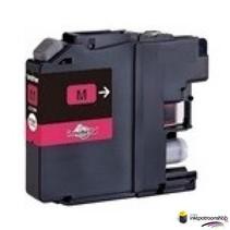 Inktcartridge Brother LC-123 magenta (huismerk)