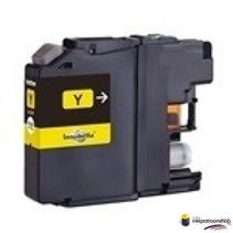 Inktcartridge Brother LC-123 yellow (huismerk)