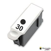 Inktcartridge Kodak 30XL zwart (huismerk)