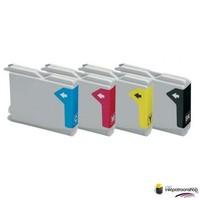 Inktcartridges de Brother LC-1000 set (huismerk) Tip Bestel de 2e set voor de helft van de prijs !!