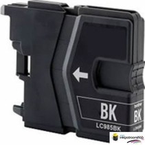 Inktcartridge Brother LC-985BK zwart (huismerk)