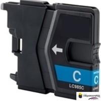 Huismerk inktpatroonshop Inktcartridge Brother LC-985C cyan (huismerk)