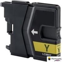 Huismerk inktpatroonshop Inktcartridge Brother LC-985Y yellow (huismerk)