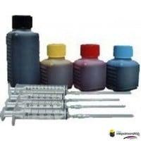 Huismerk inktpatroonshop Navulset voor de Epson (dye) zwart + kleur
