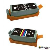 Inktcartridges Canon PGI-35 / CLI-36 set (huismerk)