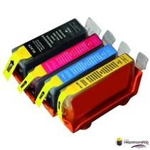 Inktcartridges Canon PGI-5bk  / CLI-8 set (huismerk)met chip Bestel de 2e set voor de helft van de prijs !!