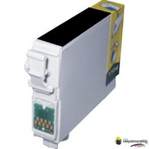 Inktcartridge Epson T-801 zwart (huismerk)