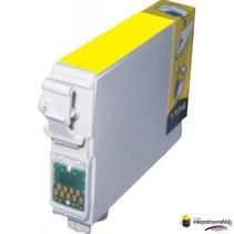 Inktcartridge Epson T-804 yellow (huismerk)