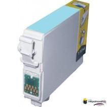 Inktcartridge Epson T-805 photo cyan (huismerk)