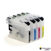 Huismerk inktpatroonshop Brother LC-123 - LC-127 serie refill inktpatronen