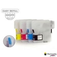 Huismerk inktpatroonshop Brother LC-980 - LC-1100 serie refill inktpatronen