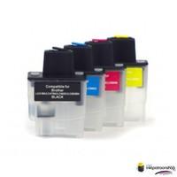 Huismerk inktpatroonshop Brother LC-900 serie refill inktpatronen
