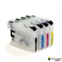 Huismerk inktpatroonshop Brother LC-970 - LC-1000 serie refill inktpatronen