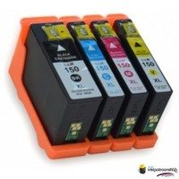 Inktcartridges Lexmark nr.150 XL set (huismerk)