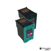 Inktcartridge HP nr.339 + 344 set (huismerk)