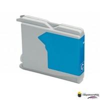 Huismerk inktpatroonshop Inktcartridge Brother LC-970C cyan (huismerk)
