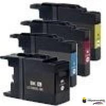 Inktcartridges Brother 10 sets LC-1220 / LC-1240  (Huismerk)