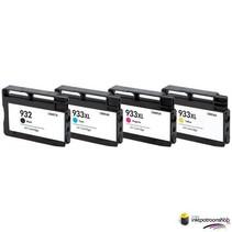 Inktcartridge HP nr.932XL + 933XL (C2P42AE) set  (huismerk)