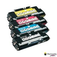 Huismerk inktpatroonshop Toner HP Voordeelset 502A (Q6470A) 1x zwart + 3x kleur(huismerk)