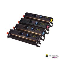 Huismerk inktpatroonshop Toner HP Voordeelset 642A (CB400A) 1x zwart + 3x kleur(huismerk)