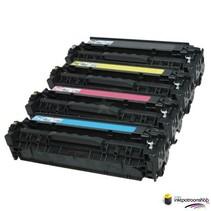 Toner HP Voordeelset HP 824A (CB380A) 1x zwart + 3x kleur(huismerk)