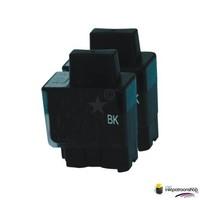 Huismerk inktpatroonshop Inktcartridge Brother LC-900BK zwart Duopack (huismerk)