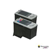 Huismerk inktpatroonshop Inktcartridges Canon PG-545 / CL-546XL set (huismerk)