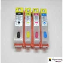 HP 920 serie refill inktpatronen met chip