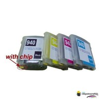 Huismerk inktpatroonshop HP 940 serie refill inktpatronen met chip