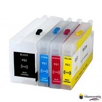 HP 950 serie refill inktpatronen met chip
