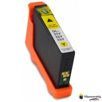 Inktcartridge Dell 31 yellow (huismerk)