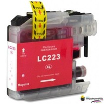 Inktcartridge Brother LC-223M magenta (huismerk)