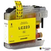 Huismerk inktpatroonshop Inktcartridge Brother LC-223Y yellow (huismerk)
