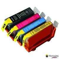 Huismerk inktpatroonshop 10 sets halen = 6 betalen Canon PGI-525/ CLI-526 incl grijs (huismerk) met chip
