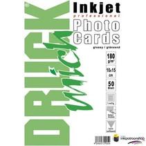 Druckmich glanzend fotopapier, 10x15 cm, 180 gram,