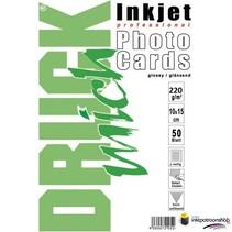 Druckmich glanzend fotopapier, 10x15 cm, 220 gram, Dubbelzijdig