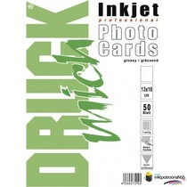 Druckmich glanzend fotopapier, 13x18 cm, 180 gram,