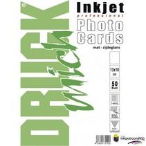 Druckmich Mat fotopapier, 13x18 cm, 210 gram,