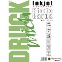 Druckmich glanzend fotopapier, 13x18 cm, 220 gram, Dubbelzijdig