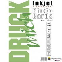 Druckmich glanzend fotopapier, 13x18 cm, 260 gram, Dubbelzijdig