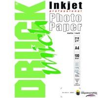 Druckmich Mat fotopapier A4, 210 gram