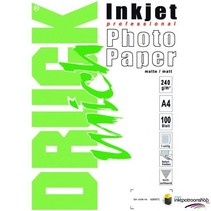Druckmich Mat fotopapier A4, 240 gram