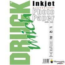 Druckmich Mat fotopapier A3, 180 gram
