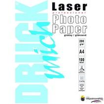 Druckmich Laser fotopapier A4 200 gram,dubbelzijdig