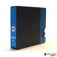 Huismerk inktpatroonshop Inktcartridge Canon PGI-2500XL c cyan (huismerk)