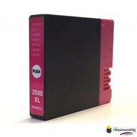 Huismerk inktpatroonshop Inktcartridge Canon PGI-2500XL m magenta (huismerk)
