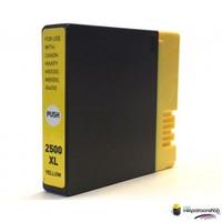Huismerk inktpatroonshop Inktcartridge Canon PGI-2500XL y yellow (huismerk)