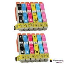 Inktcartridges Epson T-801 + T-806 set (huismerk) Bestel de 2e set voor de helft van de prijs !!