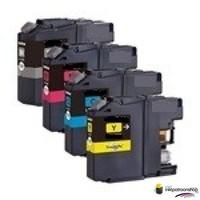 Inktcartridges Brother LC-123 set (huismerk) Bestel de 2e set voor de helft van de prijs.