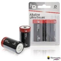 Batterij Alkaline D- blister 2 stuks (HQ)